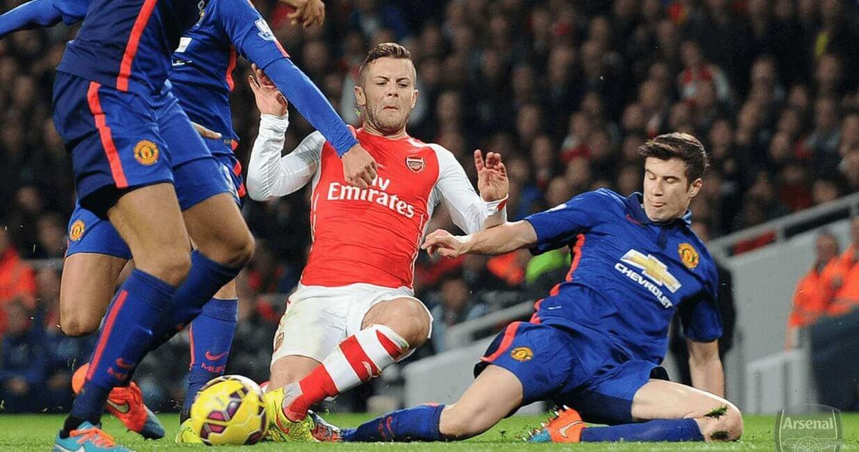 Sports Injuries At Football Match