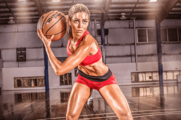 Sports Massage London - Woman Basketball Player