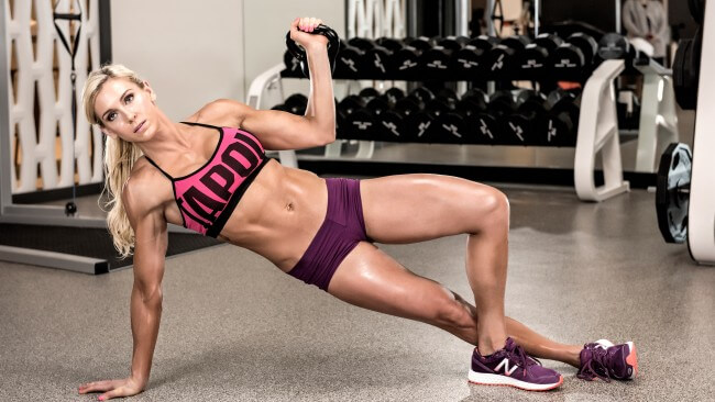 Sports-Woman-Core-Exercise