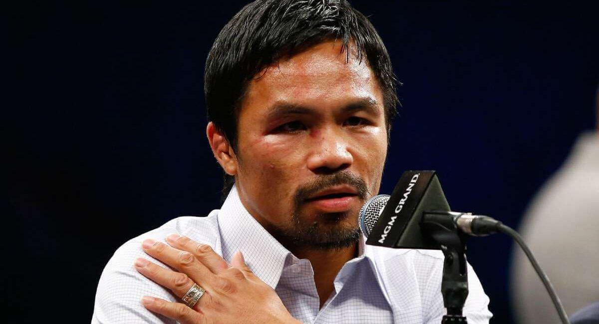 Shoulder Pain Manny Pacquiao