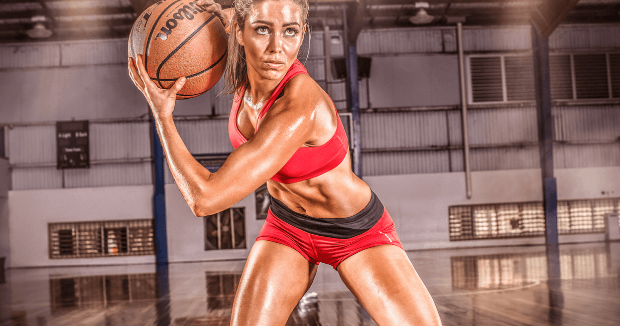 Sports Massage London - Woman Basketball Player