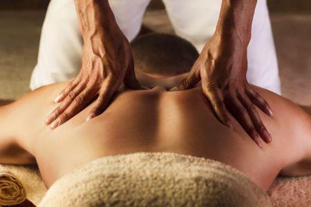 Therapist Performing Deep Tissue Massage