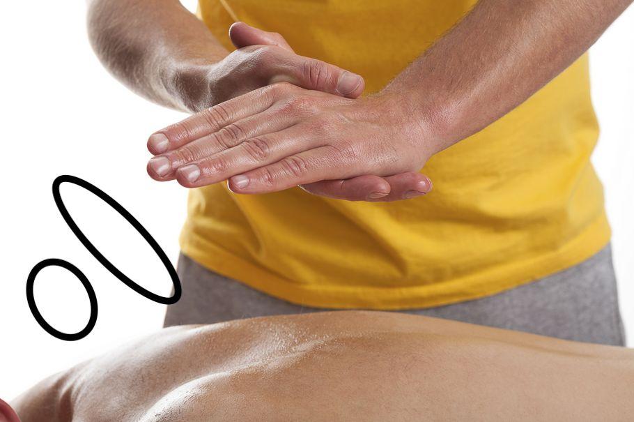 Massage Therapist Healing Hands