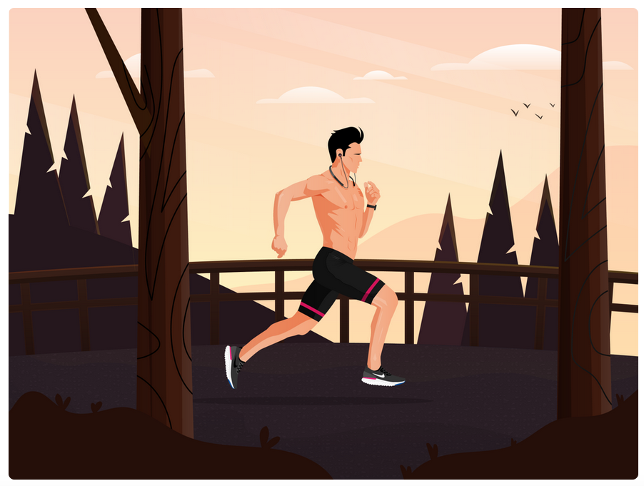 Lose weight simply by running 30 minutes a day.